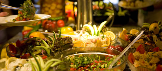 Niagara Falls Dinner Buffet - Fresh Salads