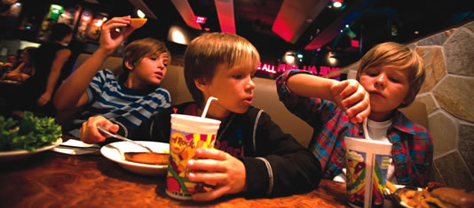 Hard Rock Cafe Niagara Falls is Family Friendly Dining that the whole family will enjoy.