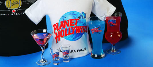 Planet Hollywood Merchandise is available at the Gift Store