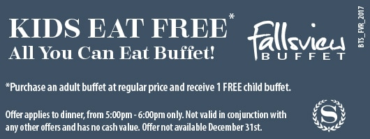 Fallsview Buffet Big Time Saver Coupon