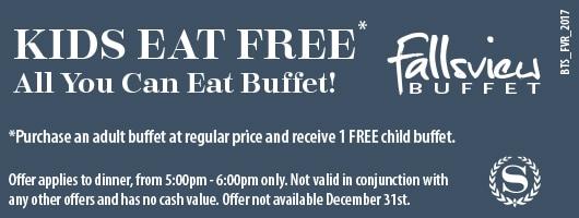 Fallsview Buffet Big Time Saver Coupon