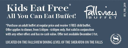 Fallsview Buffet Coupon