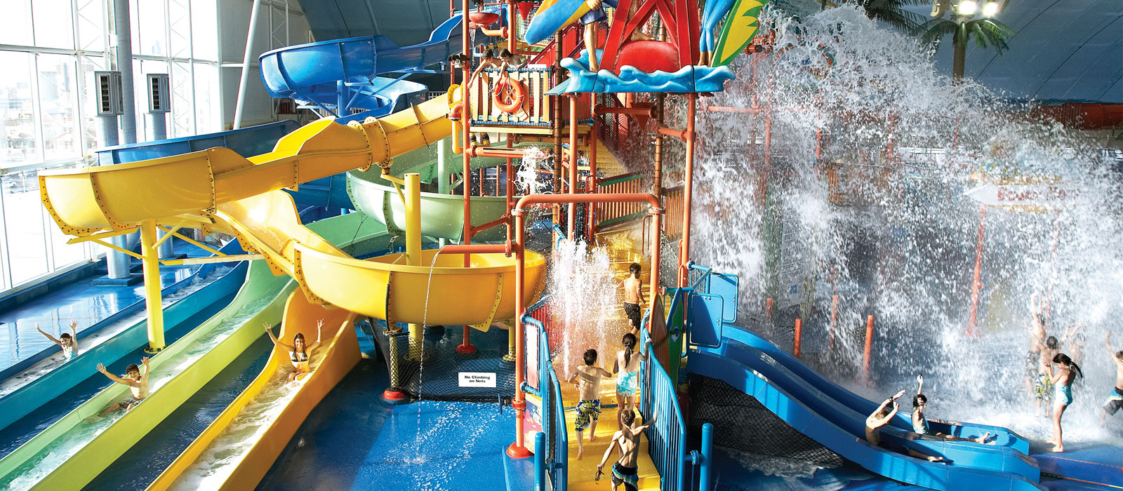 Fallsview Indoor Waterpark Falls Avenue Resort Niagara Falls Ontario