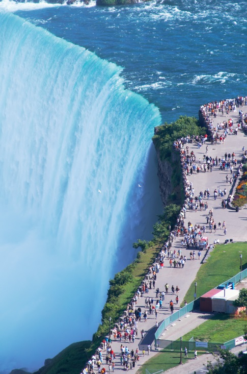 There Are All Sorts Of Amazing Things To Do And See In Niagara Falls But Most Visitors Would Not Put Navigating Though Large Crowds Other Tourists High