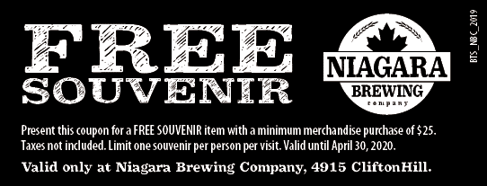 Niagara Brewing Company Coupon