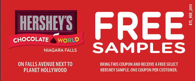Hershey's Chocolate World Coupon