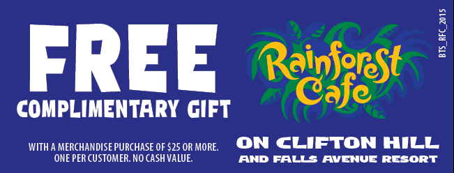 Coupons Rainforest Cafe Niagara Falls