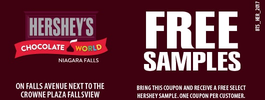 Hershey's Chocolate World Bit Time Saver Coupon