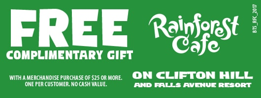 Rainforest Cafe Niagara Falls Coupon