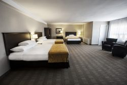 Hotel accommodations at Skyline Hotel & Waterpark for Spring Break in Niagara Falls.