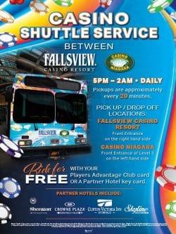 Free Casino Shuttle Service