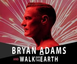 Bryan Adams to Headline New Year's Eve Concert